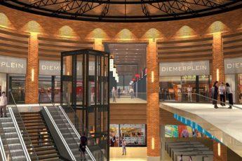 Winkelcentrum Diemerplein te Diemen